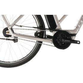 Cube Town Hybrid SL 500 E-citybike Trapez sølv